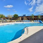 outdoor pool at Magnuson Hotel & Suites Alamogordo